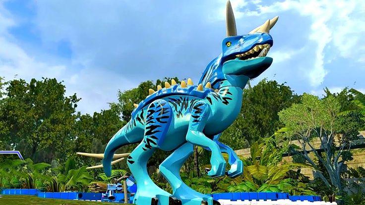 Мир Юрского Периода.Тирекс и  Динозавры.Игры Мультики про Динозавров.Leg...