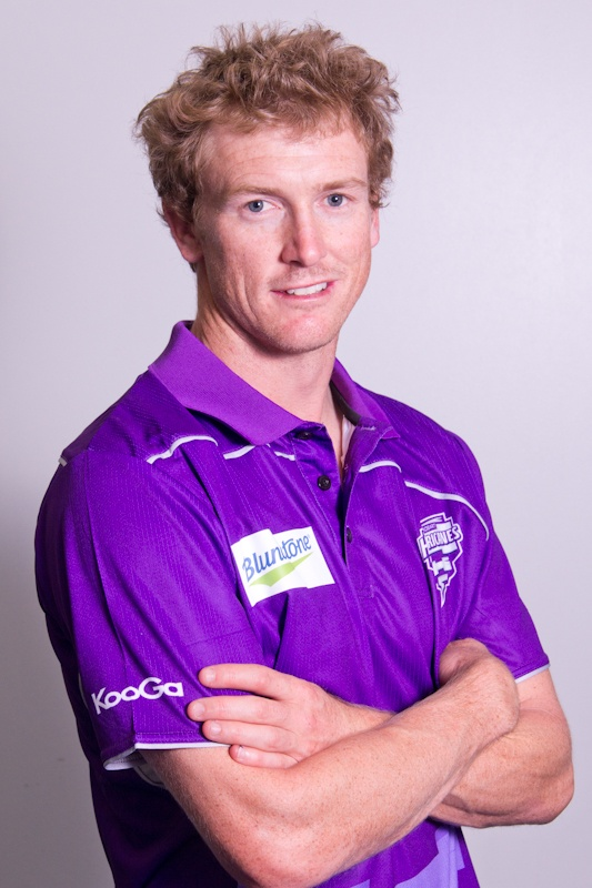 Australian and Hobart Hurricanes T20 captain George Bailey - the first in hopefully a long line of big sporting contracts for me!