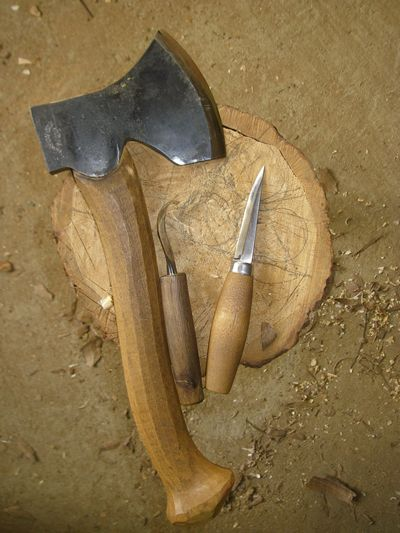 Spoon carving tools