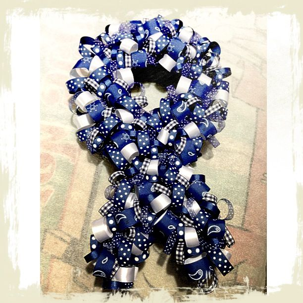 Colon Cancer Awareness- may make one of these.