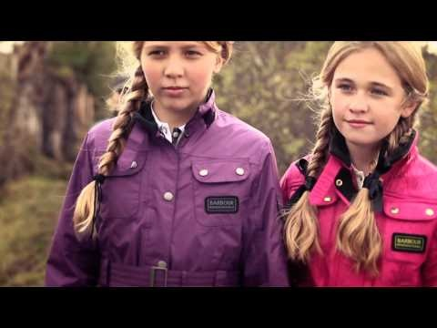 Beautiful behind the scenes video of the Barbour Children's Autumn/Winter 2012 Collection.