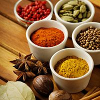 Seasoning dishes, even fatty ones, with spices such as turmeric, oregano, and garlic can be heart-healthy cooking trick. The spices, research says, can help lower triglyceride levels in the blood.