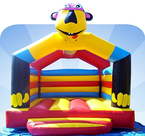 Jumping castle could be used at a kids birthday party