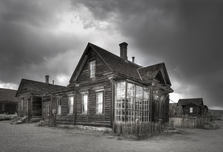 At the end of a 13 mile dusty, bumpy gravel road that runs off Highway 395 in California's Mono County region, lies the town of Bodie.An old gold-mining town...