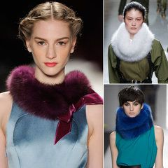 Statement Fur Scarves Make Their Mark For Fall '13 — Shop the Trend