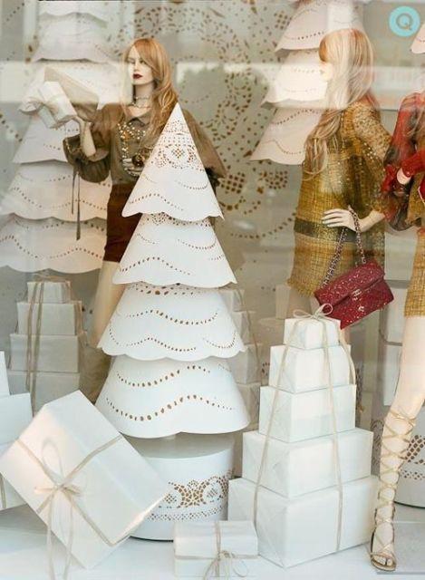 vitrine-de-natal-reciclavel