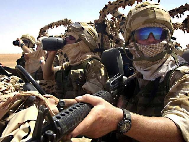21ST. CENTURY DESERT RATS   The Special Air Service or SAS is a regiment of the British Army constituted on 31 May 1950. They are part of the United Kingdom Special Forces (UKSF) and have served as a model for the special forces of many other countries all over the world