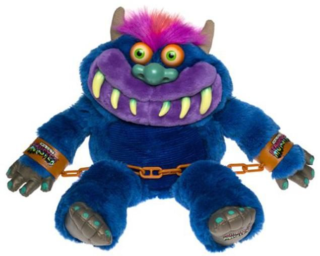 My Pet Monster!! I still remember the cartoon! Might even have a recording of it still