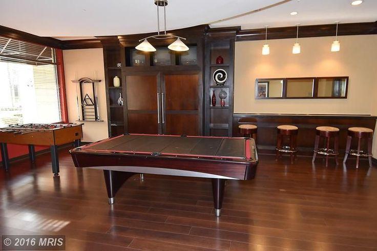 Contemporary Game Room