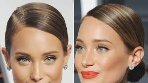 Image result for side parted updo