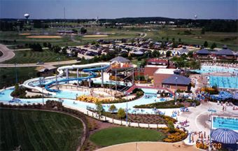 Attractions at this outdoor water park include lazy river, body flume, drop slides, tube slides, platform jump, a zero-depth pool and lap lanes. Swimming...
