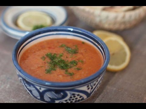 Soupe aux lentilles corail et boulgour - Blog cuisine marocaine / orientale Ma Fleur d'Oranger / Cuisine du monde /Recettes simples et cratives