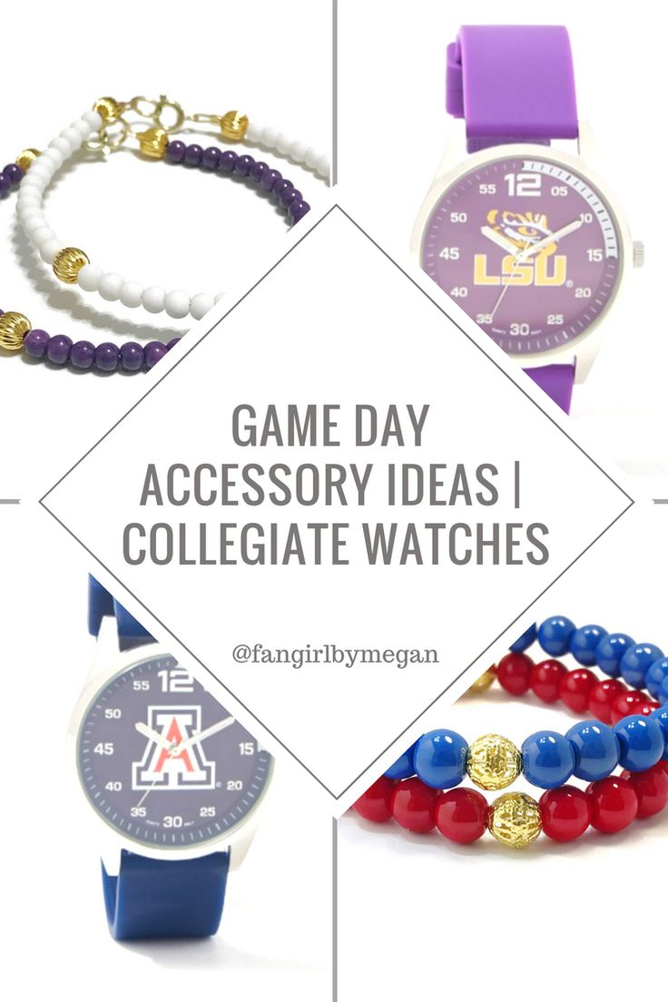 game day fashion, game day outfit & accessories | arizona wildcats, lsu tigers, miami hurricanes