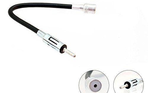 G.M. Production 151, Kit adaptateur universel antenne FM/AM mâle DIN/femelle ISO (Bosh, Blaupunkt) pour autoradio de véhicules Fiat, Alfa,…