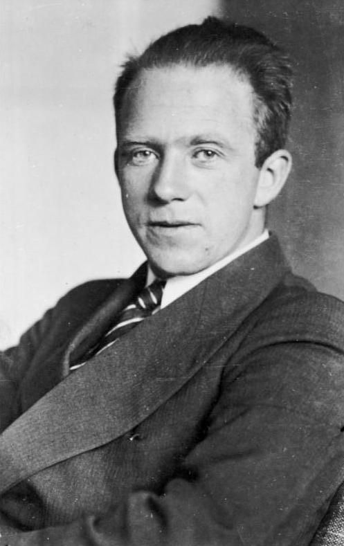 """Werner Heisenberg (1901 - 1976) Physicist, winner of the Nobel Prize for his work on quantum mechanics, best known for his """"uncertainty principle"""""""