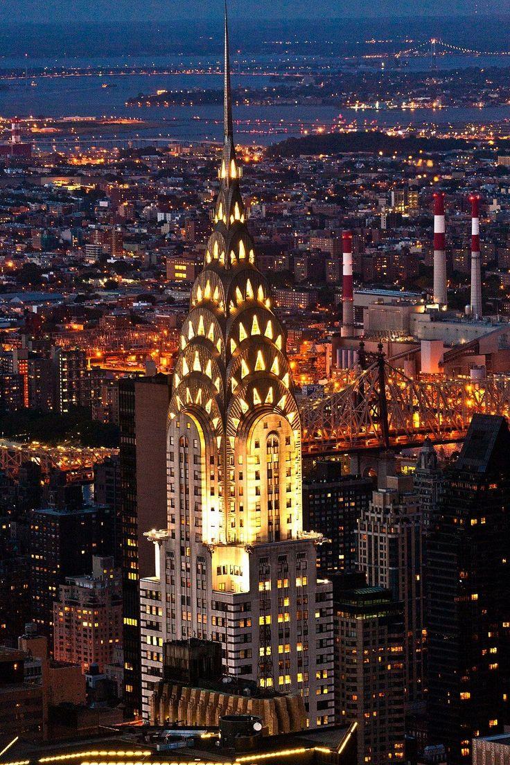 高層ビル界の超エリート「クライスラービル」