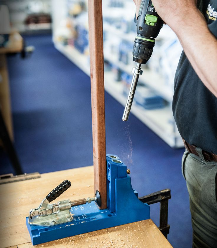 One of our staff enjoying the Kreg Jig K4 Pocket Hole System https://www.carbatec.com.au/joinery-and-adhesives/pockethole-jigs-and-accessories/pockethole-jigs/kreg-jig-k4-pocket-hole-system