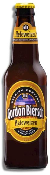 Gordon Biersch Hefeweizen on tap is oh so tasty!