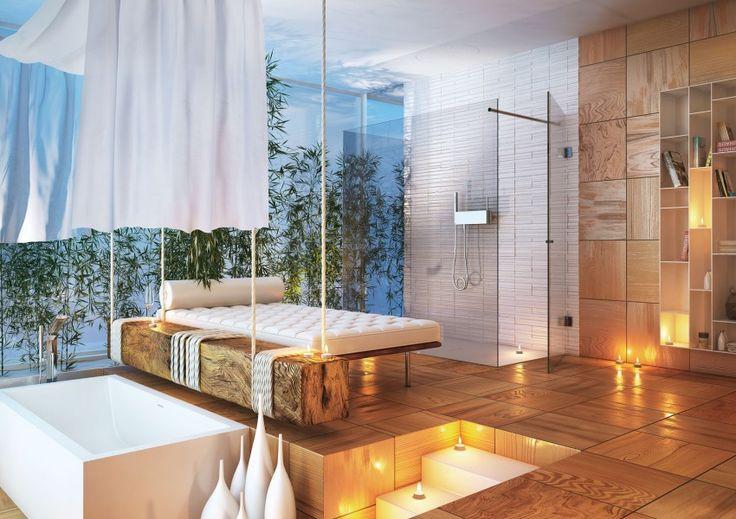 Modern Bathrooms by MOMA Design (33) #interiordesign #realestate Search the #MLS: http://www.luxuryrealestatesearch.com/Nav.aspx/Page=http://www.crmls.org%2fservlet%2flDisplayListings%3fLA%3dEN