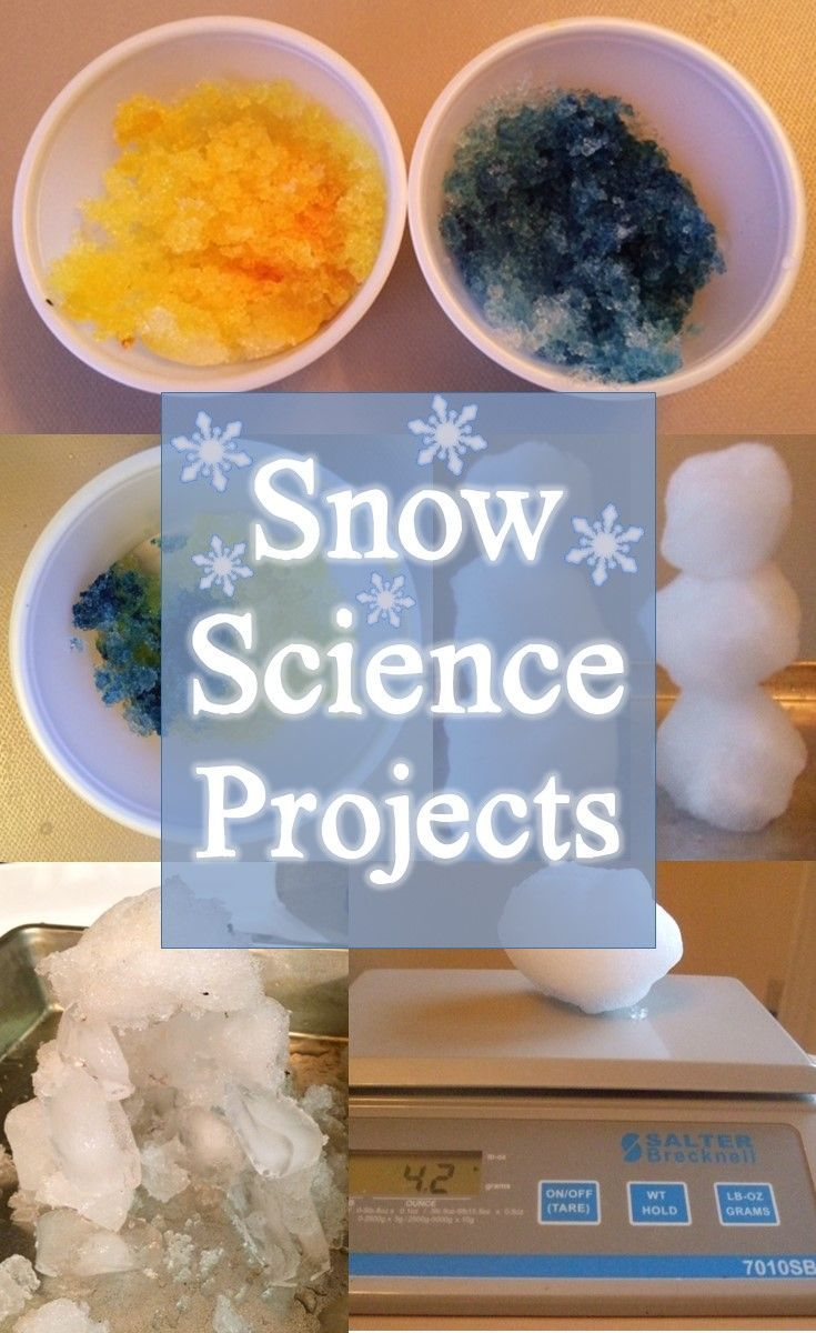 Fun science experiments and STEM project that use real snow. Incorporate math, science, and language arts with playing in the snow.