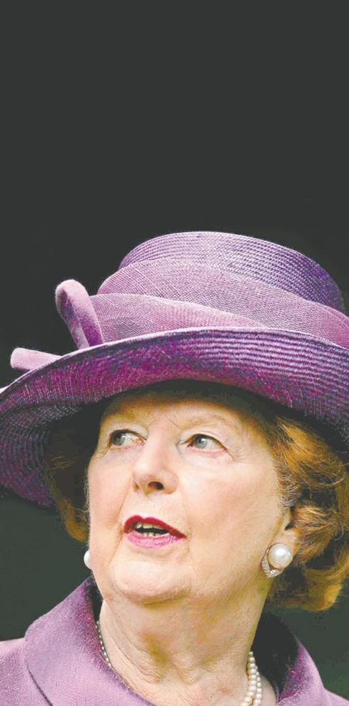 La ex primer británica murió el 8 de abril de 2013 a los 87 años, víctima de una embolia cerebral.