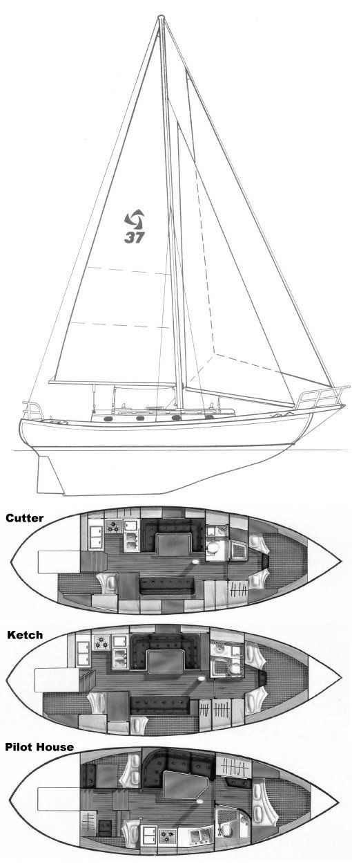 bb36ea8c9dd745d7daead687a0e1e204 boat design sailboats 8 best sailboats 37' tayana 37 images on pinterest boating  at webbmarketing.co