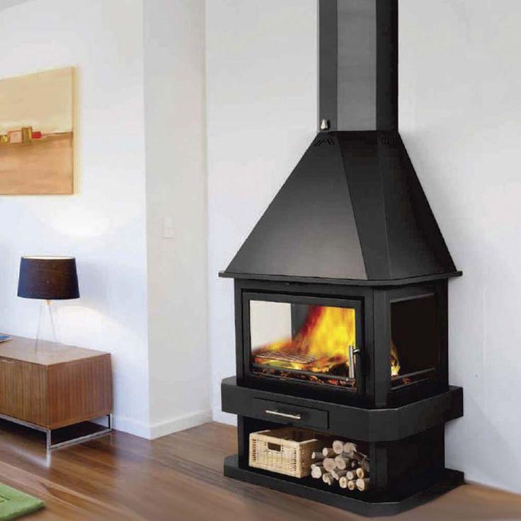 Calore - Free Standing, Wood Burning Fireplaces. - 17 Best Ideas About Wood Burning Fireplaces On Pinterest Modern