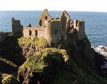 Ireland: Favorite Places, Castles In Ireland, Dunluc Castles, The Edge, Northern Ireland, Castles Ireland, Vintage Travel Posters, Dunluce Castle, County Antrim
