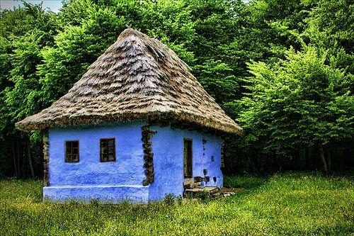 Old House, Sibiu, Transilvania, Romania