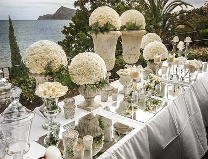 Mar de Flores . Ramos de novia y flores . Bodas Madrid