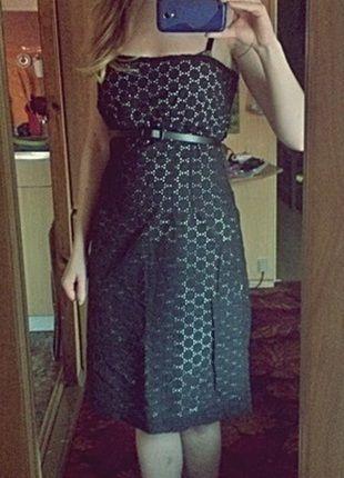 Kup mój przedmiot na #vintedpl http://www.vinted.pl/damska-odziez/sukienki-wieczorowe/13175839-koronkowa-granatowa-sukienka-pin-up-retro