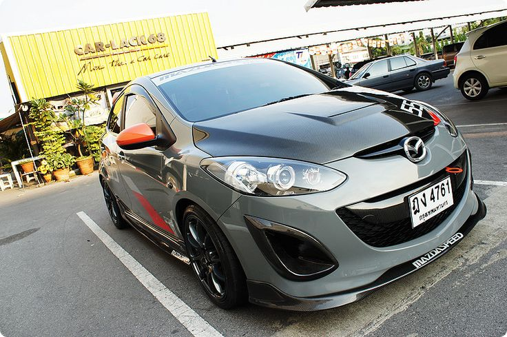 Mazda2 Thailand Style.. Gorgeous take on the Evil Track 2. :D