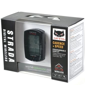 จัดส่งฟรี  Cateye Cycling Bicycle Strada Digital Wireless Computer SpeedometerCC-RD410DW (Black) (Intl)  ราคาเพียง  3,698 บาท  เท่านั้น คุณสมบัติ มีดังนี้ Brand: CateyeColor: BlackModel: STRADA DIGITAL CC-RD410DW