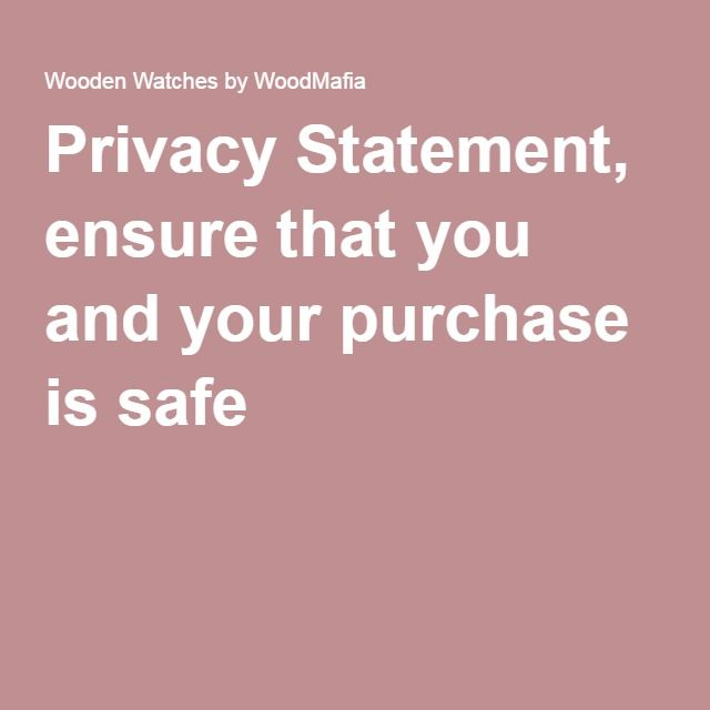 41 best wood watch images on Pinterest - privacy statement