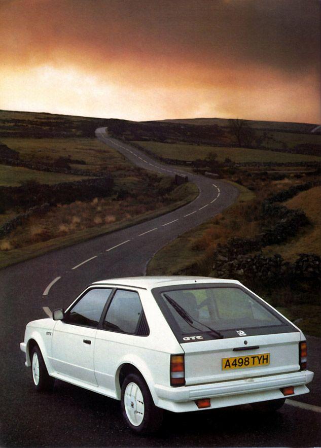 1983 Vauxhall Mk1 Astra GTE.