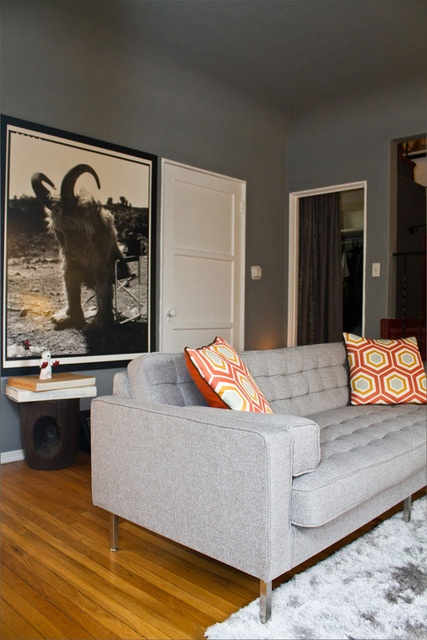 "Give me this room. Specifically the ""Where the Wild Things Are"" photo on the back wall."