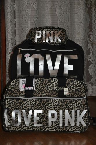 GET- I need this for trips. VICTORIAS SECRET Luggage set :) !