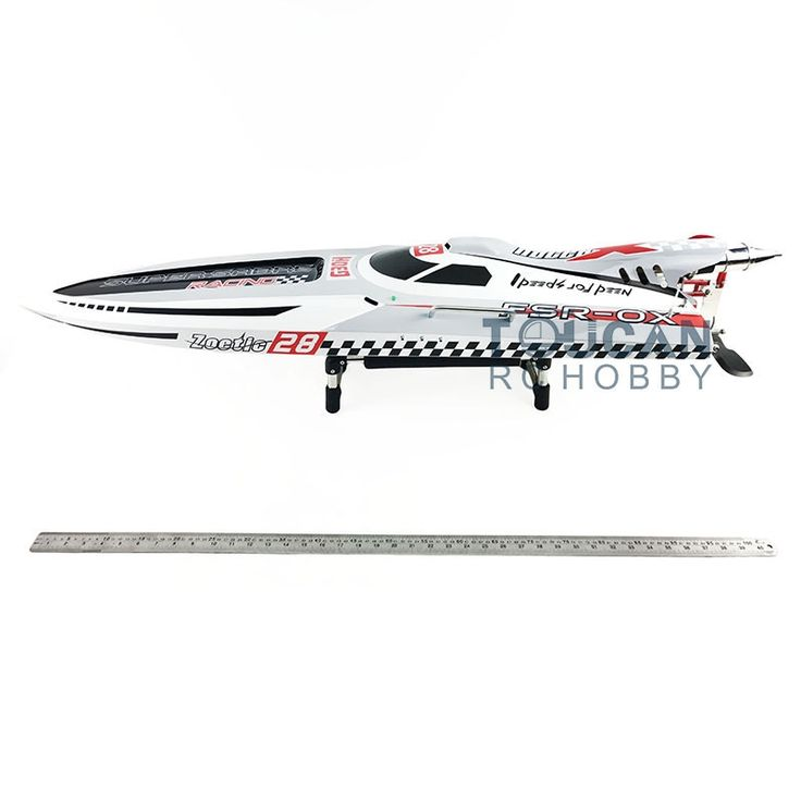 """579.99$  Buy here - http://aihhq.worlditems.win/all/product.php?id=32797916274 - """"54"""""""" 30CC Gas G30H Fiber Glass RC Racing Speed Boat 43Mph Monohull ARTR Grey"""""""