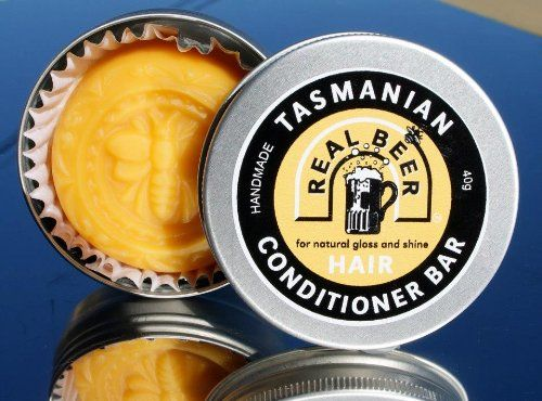Real Beer Hair Conditioner Bar from Tasmania Australia - 100% Natural - http://essential-organic.com/real-beer-hair-conditioner-bar-from-tasmania-australia-100-natural/