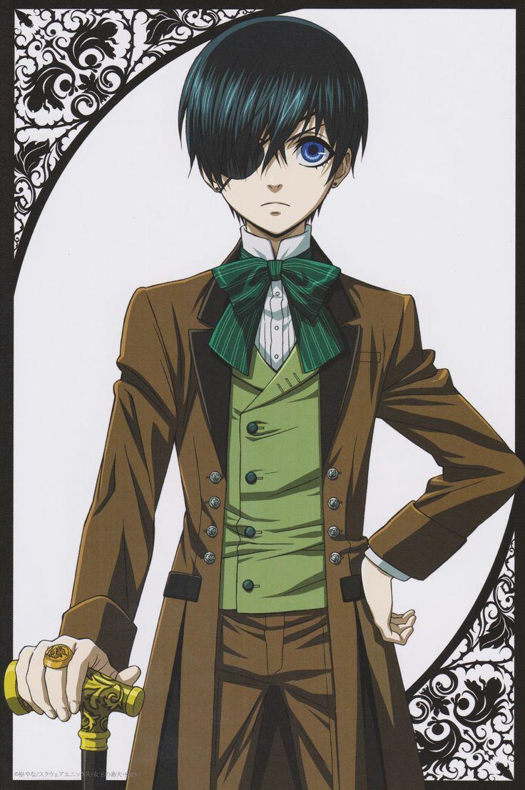 Afbeeldingsresultaat voor black butler ciel anime