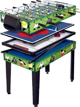 4-In-1 Games Table*