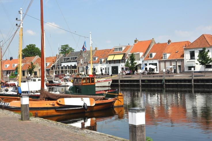 De haven van Elburg