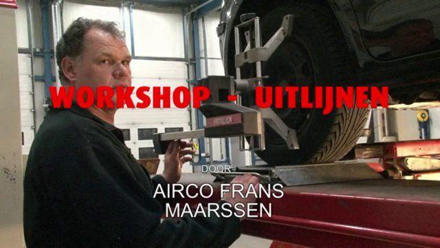 """Workshop uitlijnen bij autobedrijf Bijkerk te Ede De werknemers van Autobedrijf Frans Bijkerk krijgen zeer regelmatig in de avonduren extra bijscholing om goed op de hoogte te blijven van de technische ontwikkelingen in de autobranche. Deze workshops """"uitlijnen""""  werd  gegeven door Airco Frans uit Maarssen."""