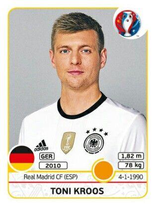 Toni Kroos - Alemania - EURO 2016