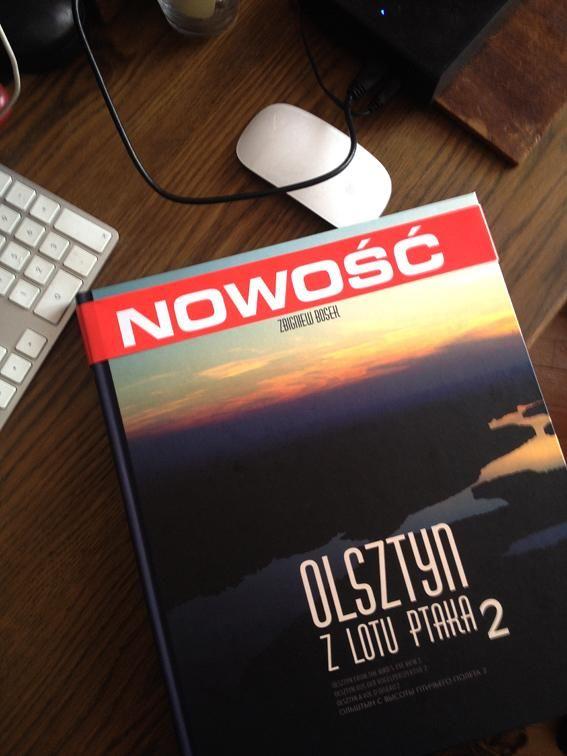 Album fotograficzny Olsztyn z lotu ptaka 2