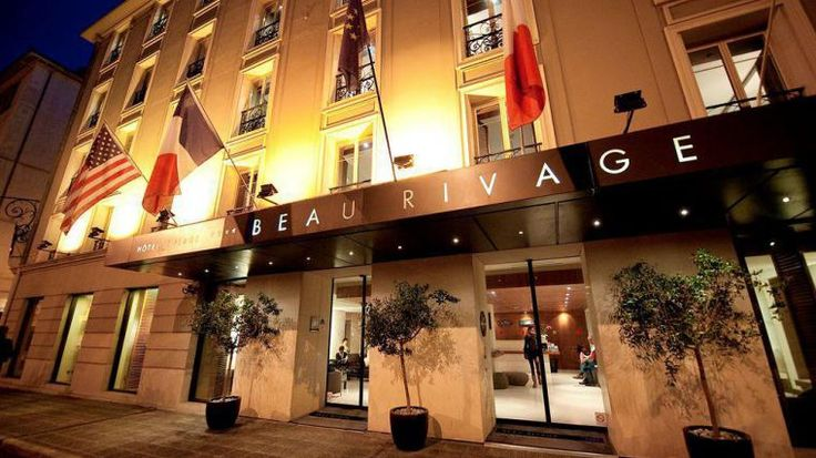 Day 15: Hotel Beau Rivage - Nice Rivage. Our home for the next 3 nights.