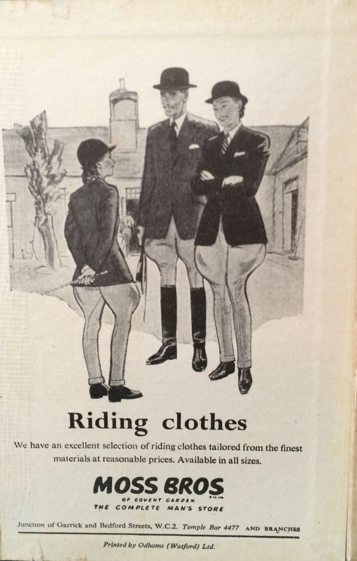 """From """"Horse and Hound"""" Year Book 1951-52."""