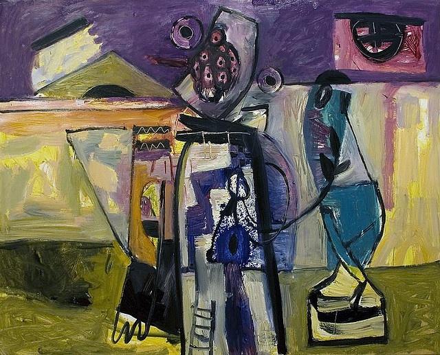 Zumeta, oil painting, 2008 by epelde & mardaras arte galería, via Flickr