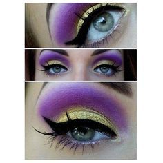 Evil queen makeup =]] More