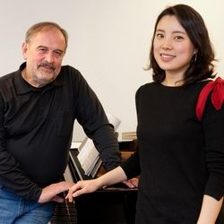 Sumi Hwang & Helmut Deutsch - Probenfotos - Theater Bonn